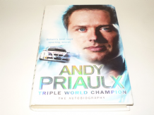ANDY PRIAULX - TRIPLE WORLD CHAMPION (2008 )   Signed